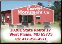Cawvey Monument