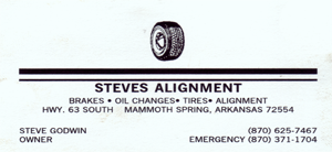 Steves Alignment