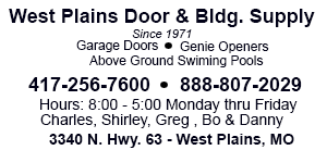 West Plains Door & building Supply