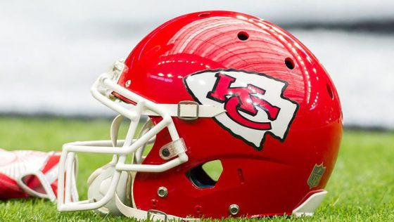 Boy Whose Chiefs Helmet Was Stolen Gets New Signed Oneozark Radio News Ozark Radio News