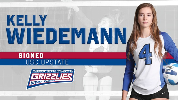Grizzly Volleyball standout Kelly Wiedemann signs with USC-Upstate - Ozark Radio News