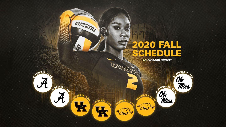 Mizzou Volleyball Announces 2020 Fall Schedule Ozark Radio News
